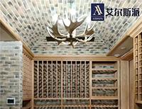 私人别墅地下室红酒酒窖案例